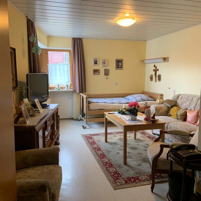 Einzelzimmer Demenz-Wohngemeinschaft